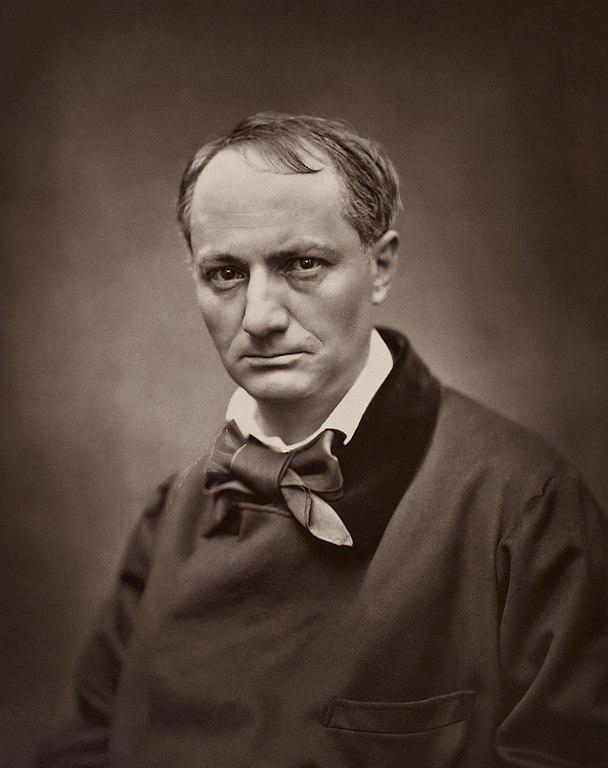 Étienne Carjat, Portrait de Charles Baudelaire, circa 1862