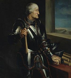 Íñigo López de Mendoza y Quiñones - Íñigo López de Mendoza, first marquis of Mondéjar by Francisco Díaz Carreño (Museo del Prado).