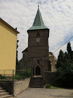 České Heřmanice, kostel svatého Jakuba Většího.JPG