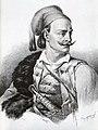 Κίτσος Τζαβέλλας. Λιθογραφία. K. Krazeisen..jpg