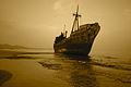 Καράβι βγήκε στη στεριά.JPG
