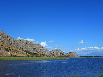 Araxos - Image: Λιμνοθάλασσα Καλογριάς Kalogria Lagoon 01