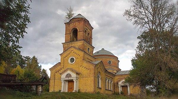 Михайлівська церква (мур.), с. Курган, © Сергій Страхов, ліцензія CC-BY-SA-4.0