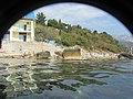 Вид в перископ на гостиницу Ассоль. Симеиз. Крым. Сентябрь 2012 - panoramio.jpg