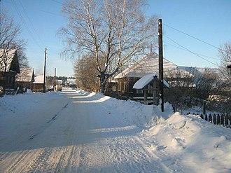 Koverninsky District - The village of Talitsy in Koverninsky District