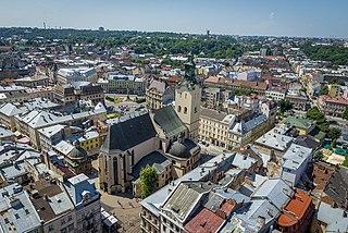 Lviv City in Lviv Oblast, Ukraine