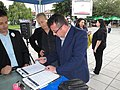 МК избори 2011 01.06. Охрид - караван Запад (5788038796).jpg