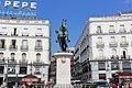 Мадрид. Памятник королю Карлу Третьему на площади дель Соль. - panoramio.jpg