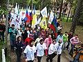 Молодежь всех республик Северного Кавказа участвует в марше патриотизма и дружбы народов 9 мая 2008 г.).jpg