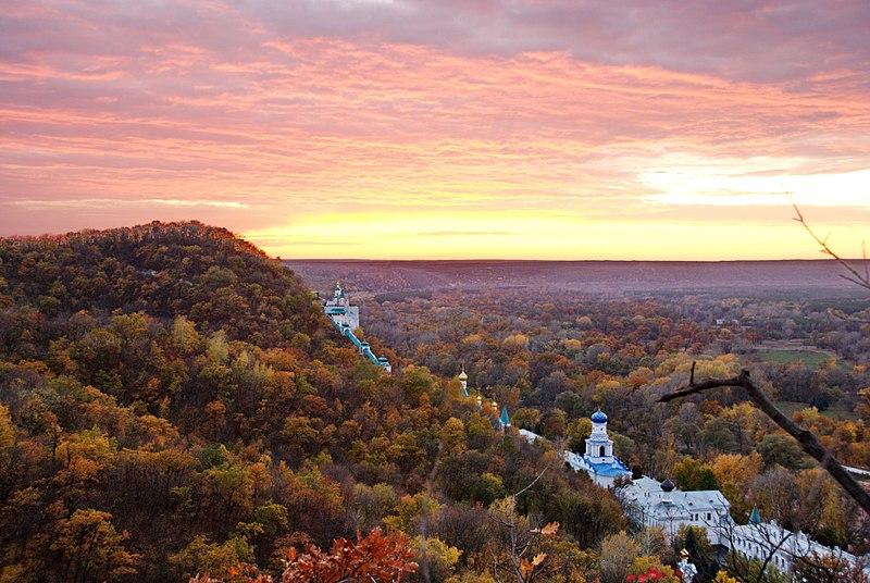File:Осенний закат в Святогорье.jpg