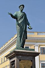 statue du duc de Richelieu