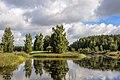 Пушкиногорье. Озеро Рыба в деревне Петровское.jpg