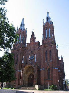 Church in Smolensk, Russia