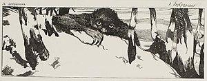 "Leshy - ""The Leshy"" by P. Dobrinin, 1906."