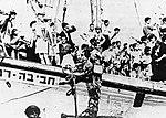 אוניית המעפילים חביבה רייק - כוחות בריטים בסיפון.jpg