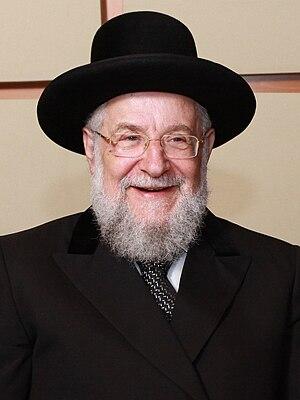 Yisrael Meir Lau cover