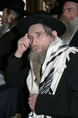 Aharon Yehuda Leib Shteinman - Image: הרב שטיינמן 5