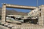 لاشه هواپیمای سوخوی 22m3k موزه جنگ همدان-Carcass plane Sukhoi22m3k.jpg