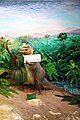 موزه تاریخ طبیعی قم- ماکت دایناسور تیرانوسوروس از تیره گوشتخواران Tyrannosaurus.jpg