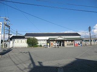 Higashi-Toyama Station Railway station in Toyama, Toyama Prefecture, Japan