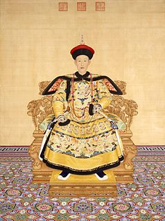 Qianlong Emperor 5th Emperor of the Qing dynasty