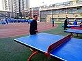 雁塔 陕师大附中分校在打乒乓球 20.jpg