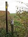 -2018-11-07 Direction fingerpost, Norfolk coast path, Paston (1).JPG