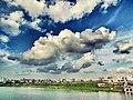 -beforerain -cloudy -blue -sky -HatirJheel -lake -water -dhaka -bangladesh (27222947114).jpg