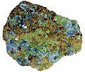 00031 6 cm grossular calcite augite skarn.jpg