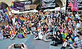 02020 0430 (2) Equality March 2020 in Kraków, selfie with homophobes, Stop Bzdurom.jpg