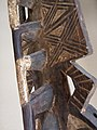 027 b detail BWA - (BAYIRI) PLANK MASK, Burkina Faso FRONT (168.CM) (9362788951).jpg