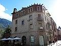 030 Antiga Clínica Vilanova, pl. Rebés - Príncep Benlloch (Andorra la Vella).JPG