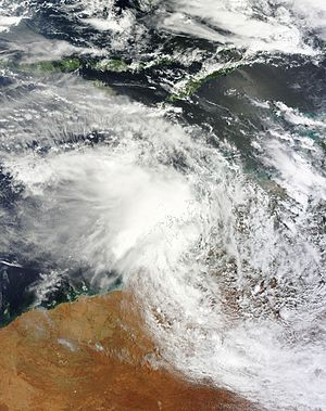 2014–15 Australian region cyclone season - Image: 05U Jan 7 2015