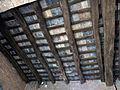 097 Portal de Sant Francesc, o de Cal Valeri (Santpedor), sostre.JPG