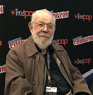 Al Jaffee - Jaffee at the New York Comic Con in 2016
