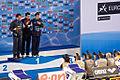 100 IM ceremony at 2010 Eindhoven WC.jpg