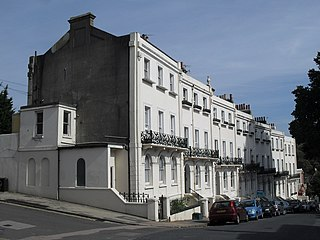 Roundhill Crescent 19th-century housing development in Brighton and Hove