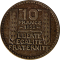 10 francs Turin revers (argent).png