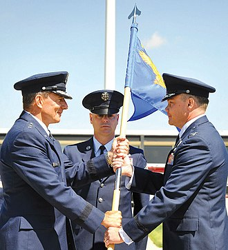 10th Air Base Wing - Image: 10th Air Base Wing Change of Command