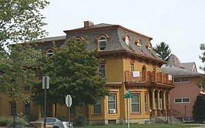 National Register of Historic Places listings in La Crosse County, Wisconsin - Image: 10th Cass St Neighborhood Historic District