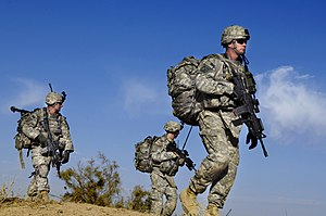 1st Brigade Combat Team, 10th Mountain Division (United States) - Infantrymen from C/2-22 IN in Iraq, 2007