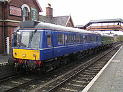 "Chiltern Railways operate a single Class 121 ""Bubble Car"" on Aylesbury to Princes Risborough shuttles."