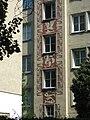 1210 Weisselgasse 23 - Sgraffito von Hans Wulz 1955 IMG 2378.jpg