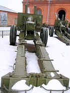 122mm m1931 gun Saint Petersburg 14