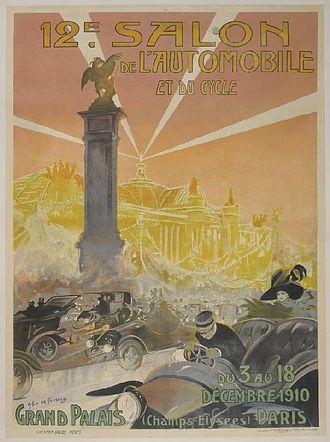 Paris Motor Show - Image: 12e Salondel Automobile