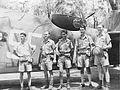 13 Squadron RAAF Hudson aircrew Hughes NT Feb 1943 AWM NWA0074.jpg