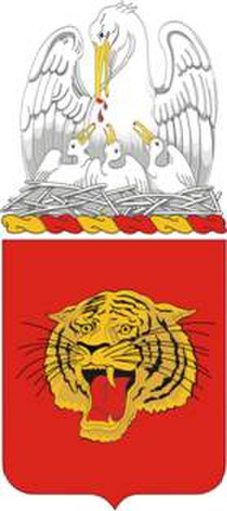 141st Field Artillery Regiment - Coat of arms