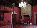 147 Castell de Santa Florentina (Canet de Mar), dormitori del rei.JPG