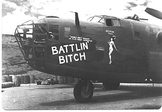 Fourteenth Air Force - 14th Air Force B-24, China, c. 1944.