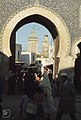 14th Century gate to Fes Medina. 75% Maroc population is Berber (37086053233).jpg